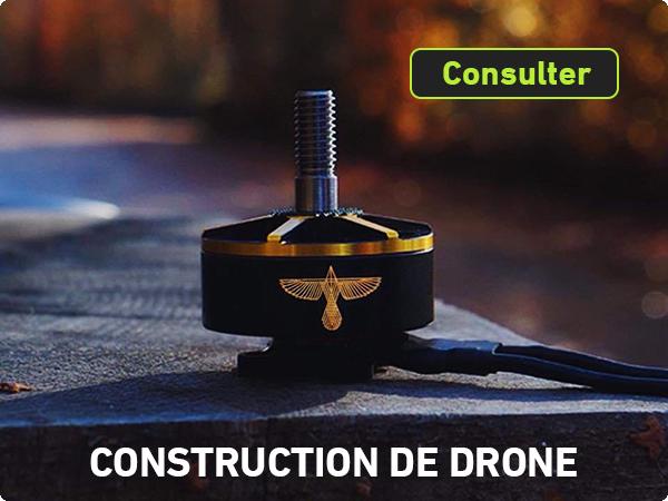 Construction de drone