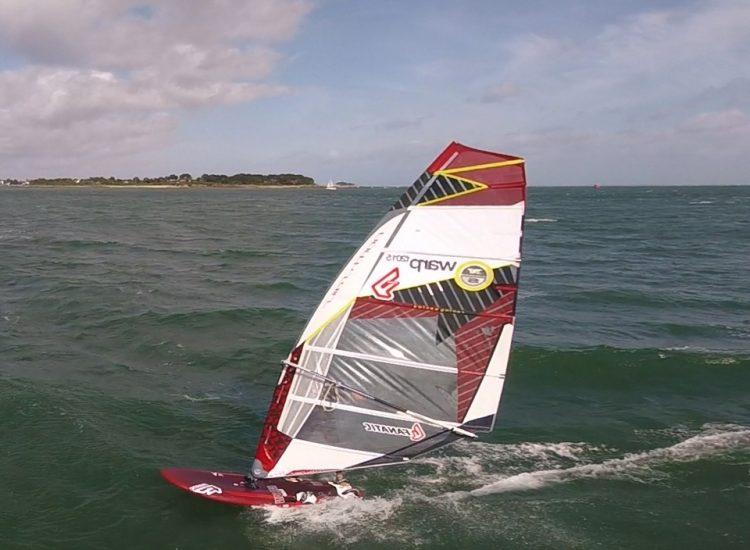 Windsurf drone